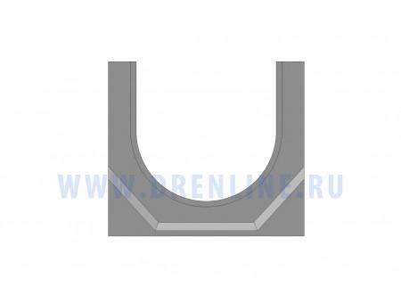 Лоток водоотводный бетонный DRENLINE Standart DN100 h125