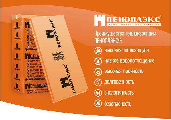 Пеноплэкс Фундамент