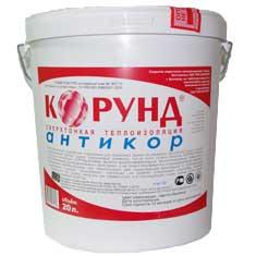 Сверхтонкая жидкая теплоизоляция КОРУНД АНТИКОР
