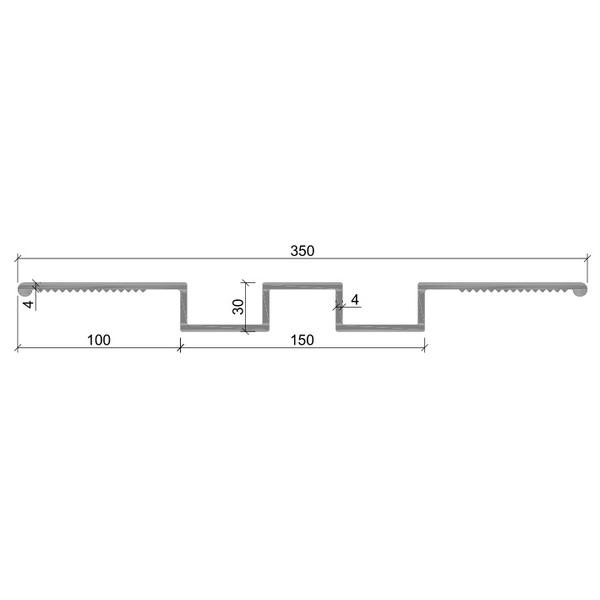 Гидрошпонка ДР-350/150 ПВХ-П