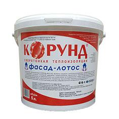 Сверхтонкий теплоизолятор КОРУНД Фасад –Лотос