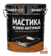 Мастика Резино-битумная Smartmix, 5кг.