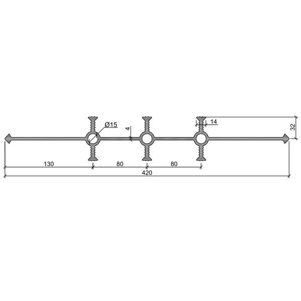 Гидрошпонка УВ-420-6/30 ПВХ-П